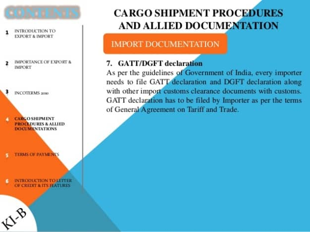 http://www.bhadotri.com/documents-required-for-customs-clearance-in-india/